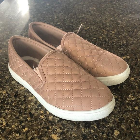 Stevies Shoes   Blush Pink Slip Ons